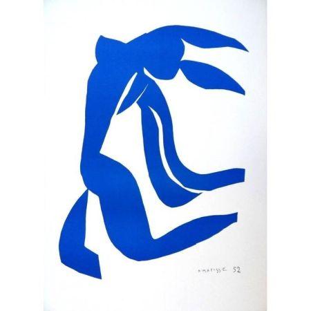 Litografía Matisse - Liberté Bleu