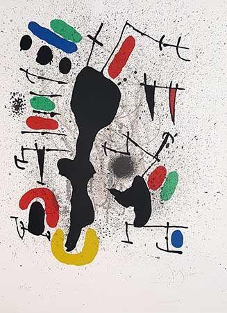 Litografía Miró - Liberté Des Libertés