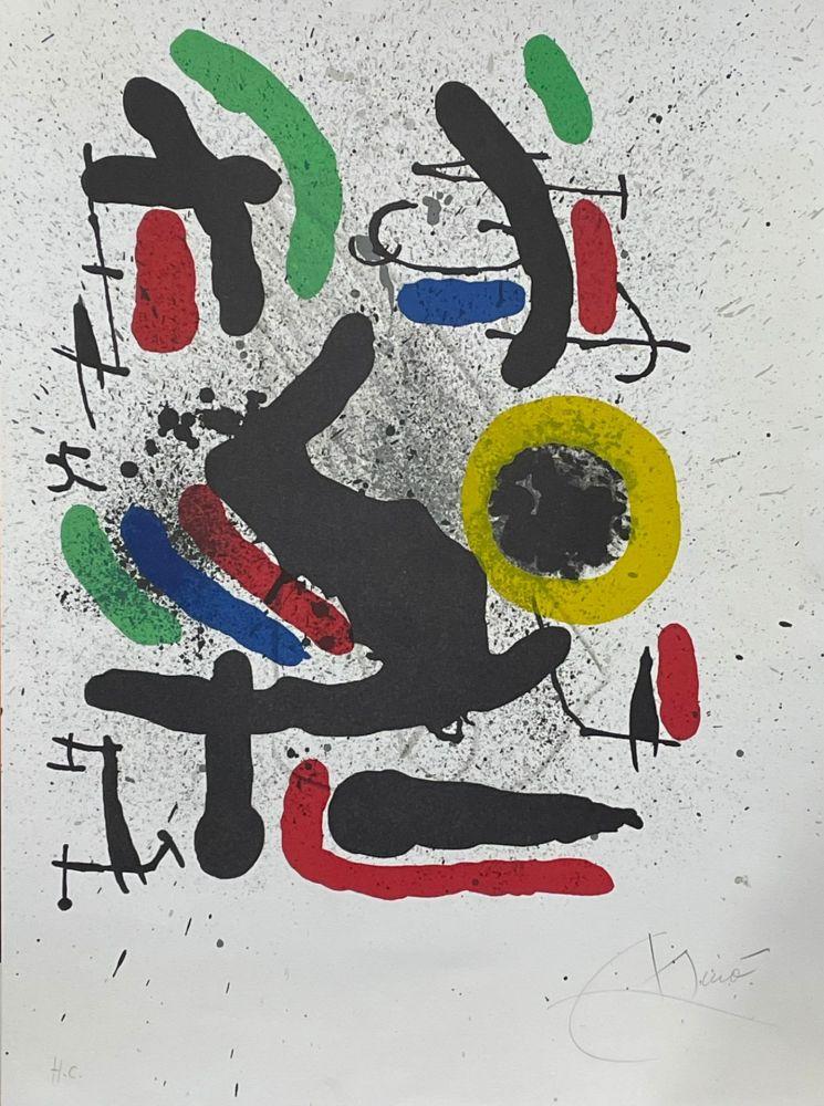 Litografía Miró - Liberté des libertés 2
