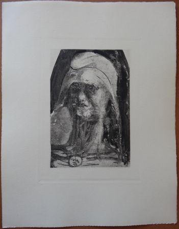 Aguafuerte Rodin - Liberty