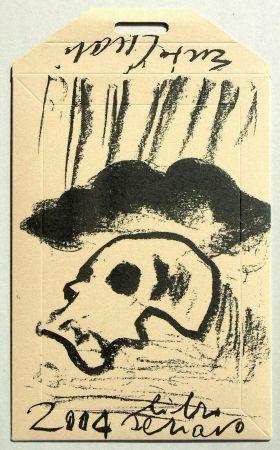 Serigrafía Cucchi - Libro schiavo