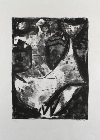 Litografía Marini - L'Idea del cavaliere