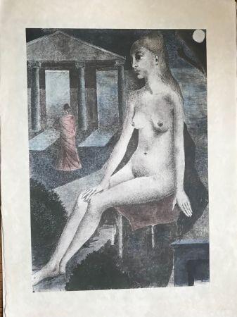Serigrafía Delvaux - L'Idole