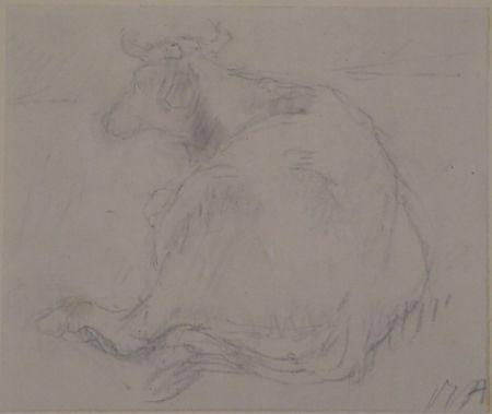 Sin Técnico Auberjonois - Liegende Kuh / Reclining cow