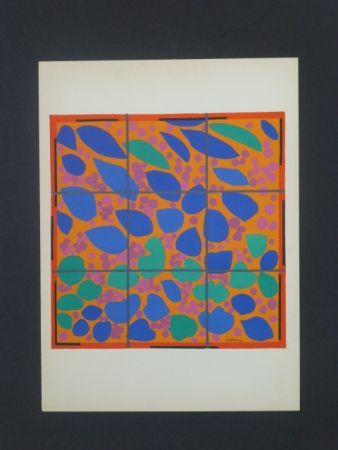 Litografía Matisse - Lierre en fleurs, 1953