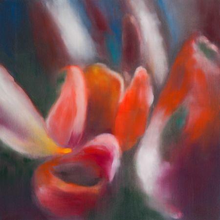 Estampa Numérica Bleckner - Light Flowers I