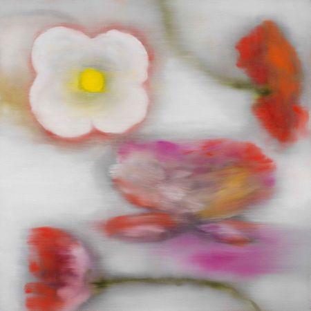 Estampa Numérica Bleckner - Light Flowers II