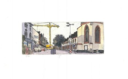 Aguafuerte Y Aguatinta Panzner - Limburg