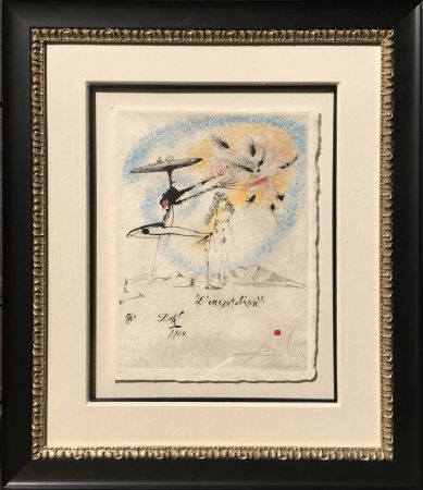 Grabado Dali - L'Incantation from the Les Rois Mages Portfolio