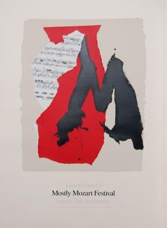 Litografía Motherwell - Lincoln Center Mostly Mozart, 25th Anniversary