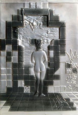 Litografía Dali - Lincoln in Dalivision