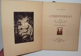 Libro Ilustrado Simon-Barboux - L'indifférent