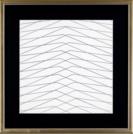Serigrafía Morellet - L'instabilità come condizione umana