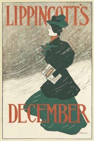 Litografía Gould - Lippincott's December