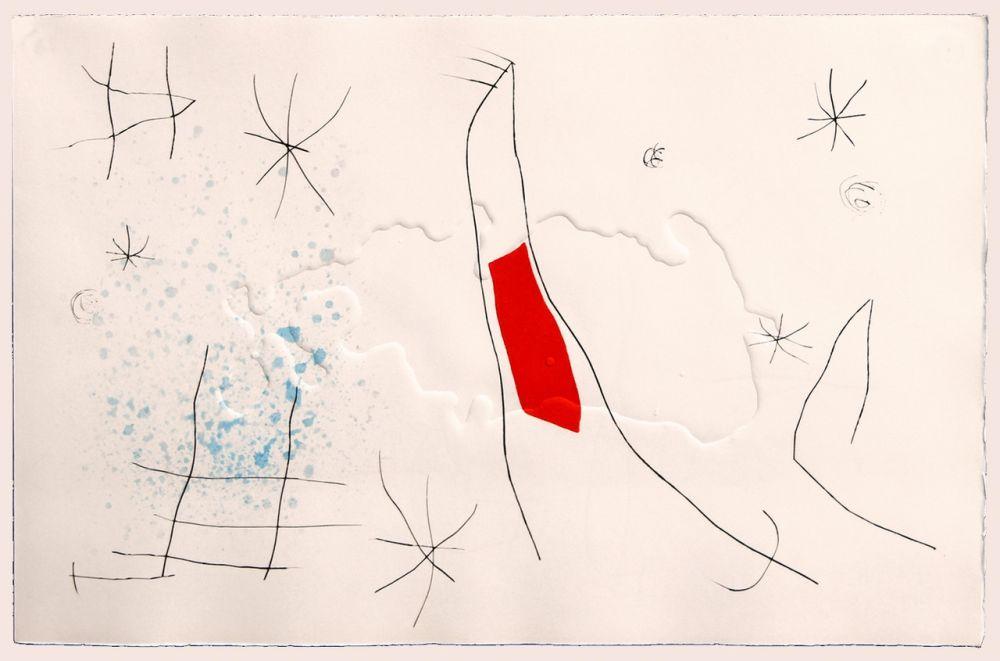 Punta Seca Miró - L'issue dérobée