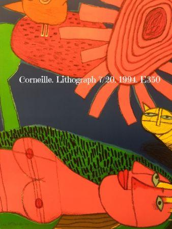 Litografía Corneille - Lithograph 7/200