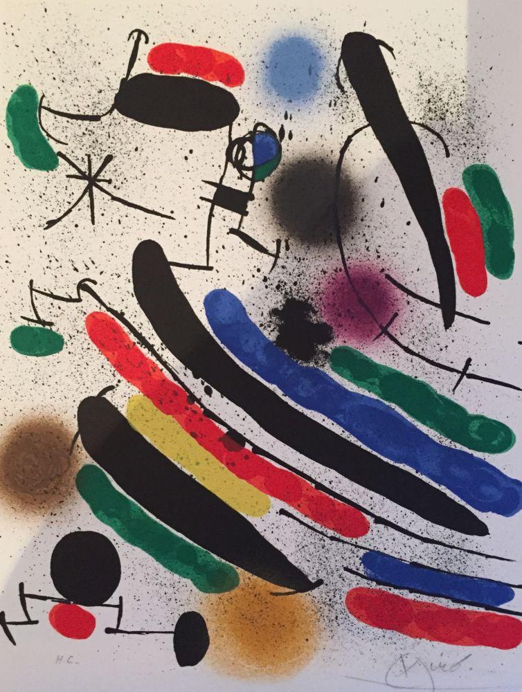 Litografía Miró - Lithograph I