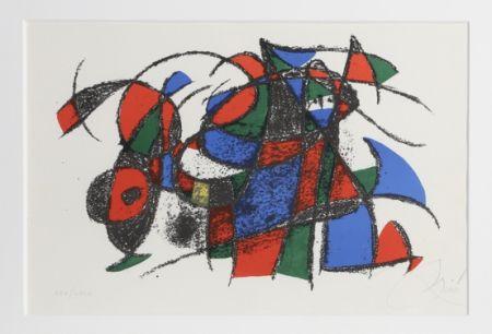 Litografía Miró - Lithograph III
