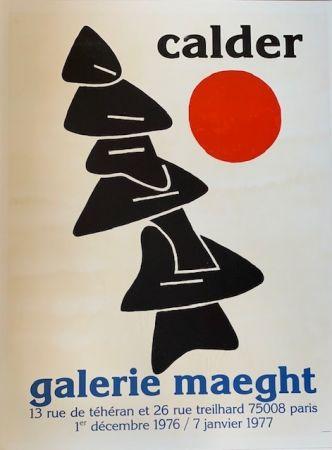 Litografía Calder - Lithographic poster