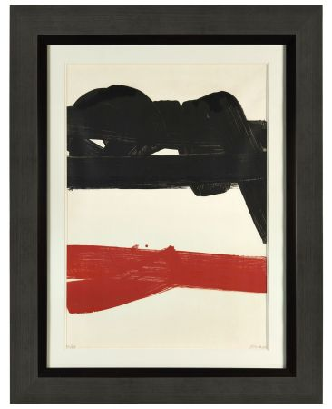 Litografía Soulages - Lithographie 27 - 1969