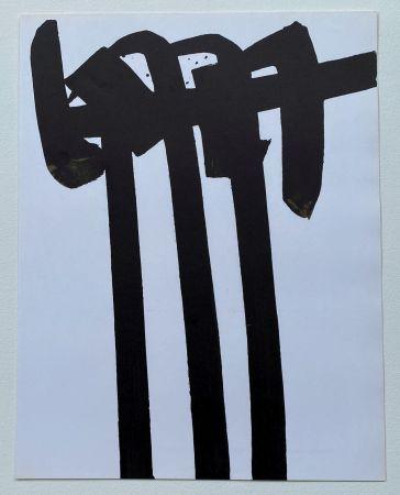 Litografía Soulages - Lithographie 28