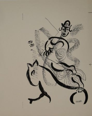 Litografía Chagall - Lithographie für