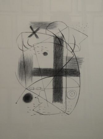 Litografía Miró - Lithographie II