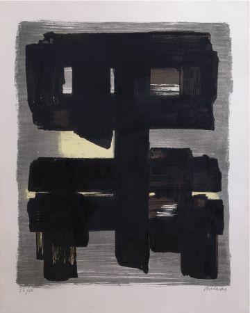 Litografía Soulages - Lithographie n°1