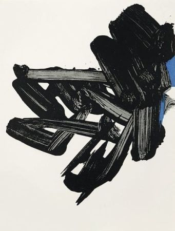 Litografía Soulages - Lithographie n°17