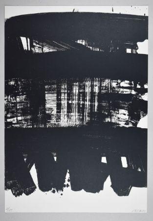 Litografía Soulages - Lithographie n°21