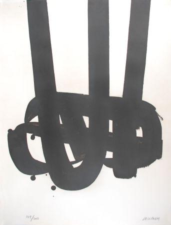 Litografía Soulages - Lithographie n°29