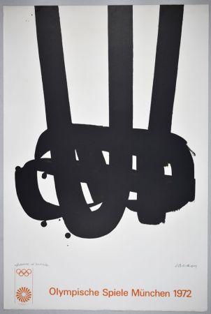 Litografía Soulages - Lithographie n°29 JO
