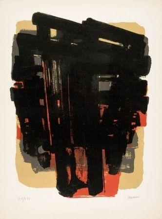 Litografía Soulages - Lithographie n°8