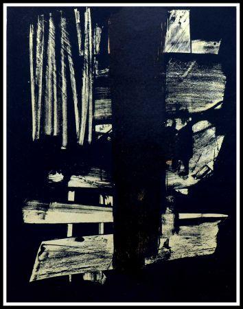 Sin Técnico Soulages - Lithographie N°9