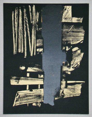 Litografía Soulages - Lithographie N°9
