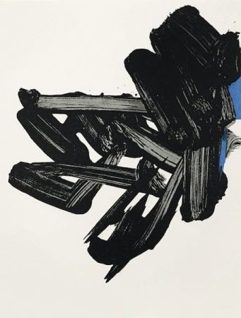 Litografía Soulages - Lithographie n° 17