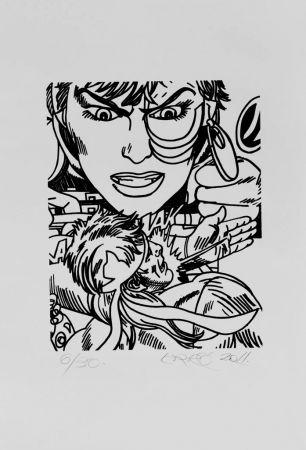 Litografía Erro - Lithographie Originale / Original Lithograph