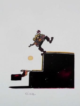Litografía Ferzat - Lithographie originale / Original lithograph