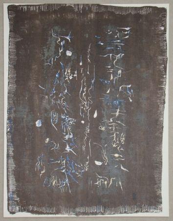Litografía Zao - Lithographie originale pour XXe Siècle
