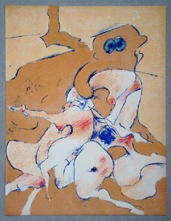 Litografía Tanning - Lithographie originale pour XXe Siècle
