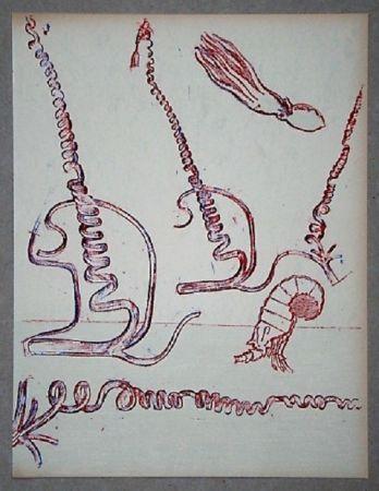 Litografía Ernst - Lithographie originale pour XXe Siècle