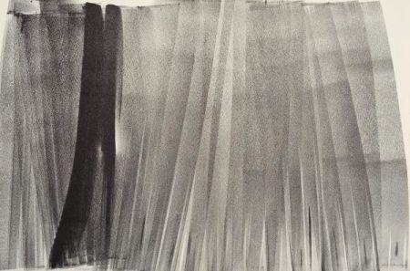 Litografía Hartung - Lithographie originale. Signée.