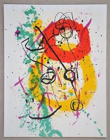 Litografía Miró - Lithographie pour XXe Siècle