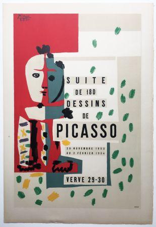 Litografía Picasso - LITHOGRAPHIE: SUITE DE 180 DESSINS. VALLAURIS VERVE 29-30. 1953-1954