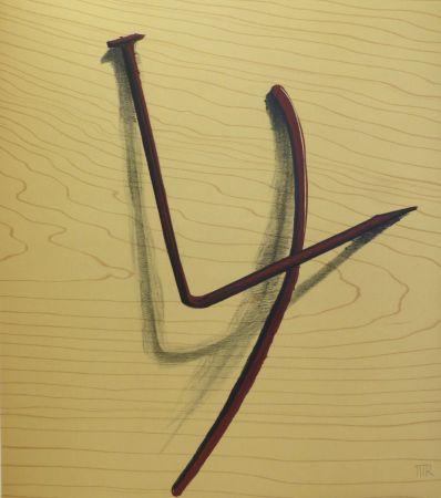 Sin Técnico Ray - Lithographie sur vélin d'Arches. 1973.