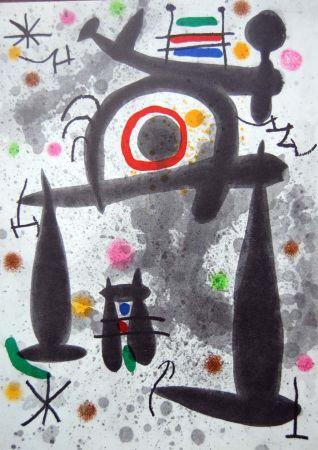 Litografía Miró - Litografia Original Derriere Le Miroir - 1971