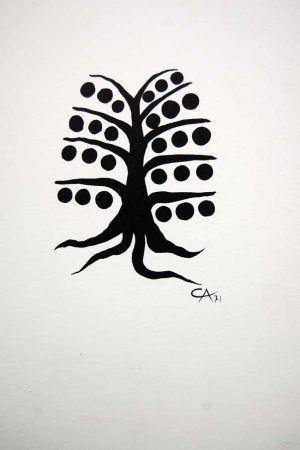 Litografía Calder - Litografia Original Derriere Le Miroir - 1971