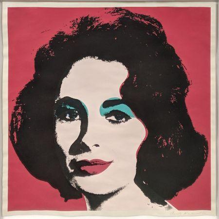 Litografía Warhol - LIZ FS II.7
