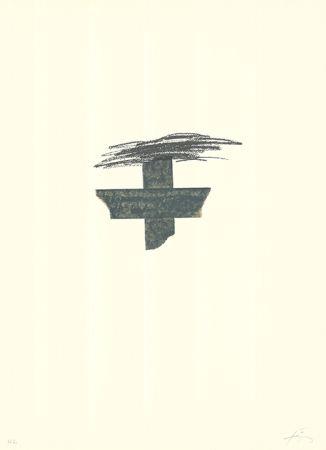 Litografía Tàpies - Llambrec-1
