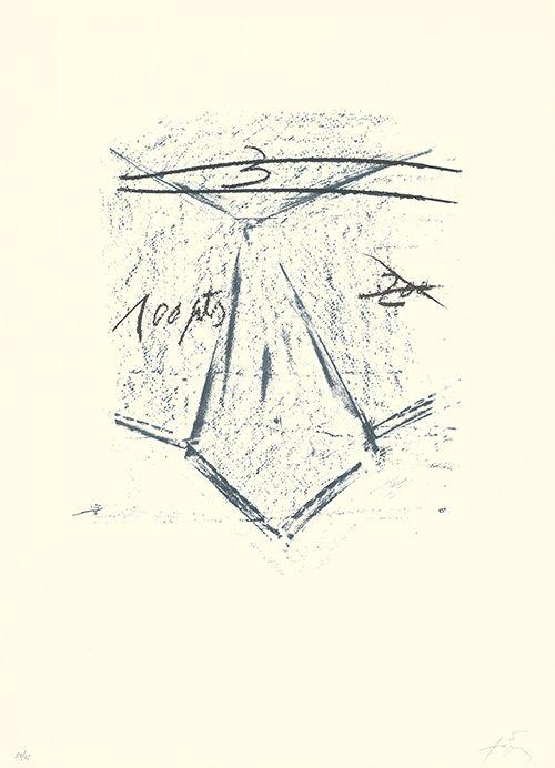 Litografía Tàpies - Llambrec-12
